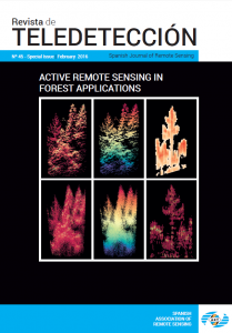 "New special issue of ""Spanish Journal of Remote Sensing"""